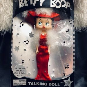 Brand New Adorable Betty Boop Talking Doll